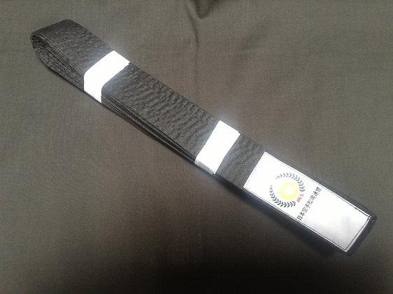 Belt: Black cotton