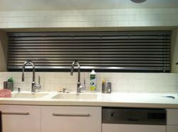 וילון ונציאני במטבח