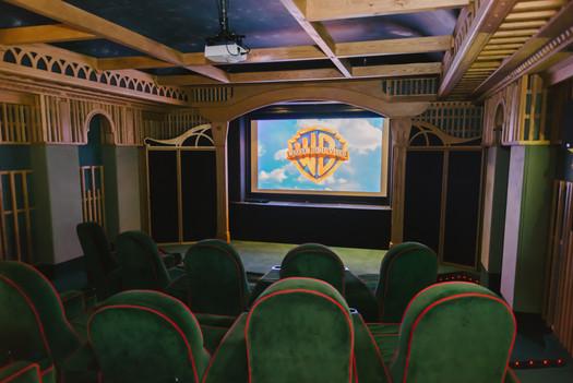 Cinema Room at The Copse