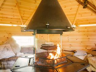 Arctic Cabin BBQ hut