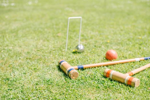croquet - a garden game