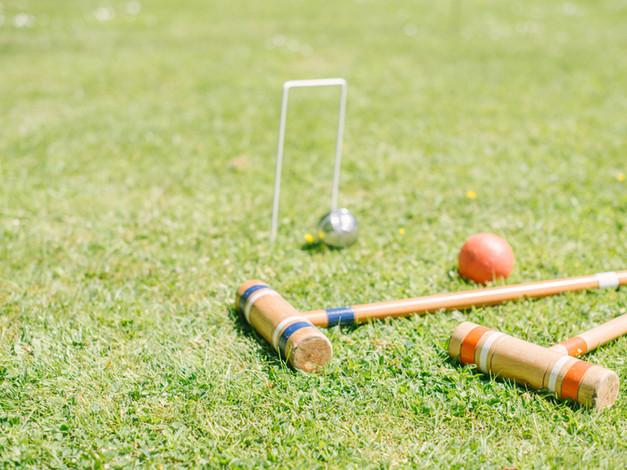 croquet in the garden