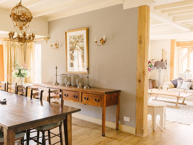 dining room and sitting room