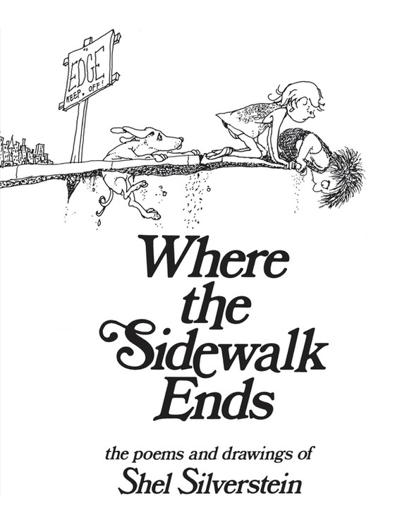 The Books That Made Me: Where the Sidewalk Ends