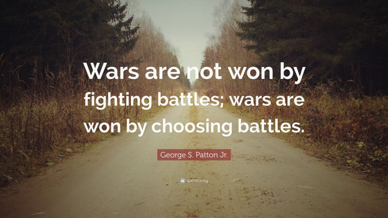 This Fight is Not Worth Fighting