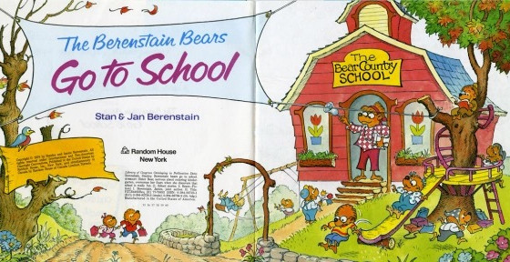 The Books that Made Me: The Berenstain Bears Go To School