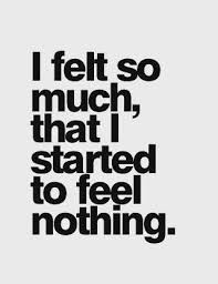 Feeling a Little Numb? Me Too.