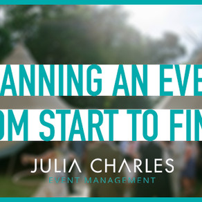 What goes into Planning an Event from Start to Finish?