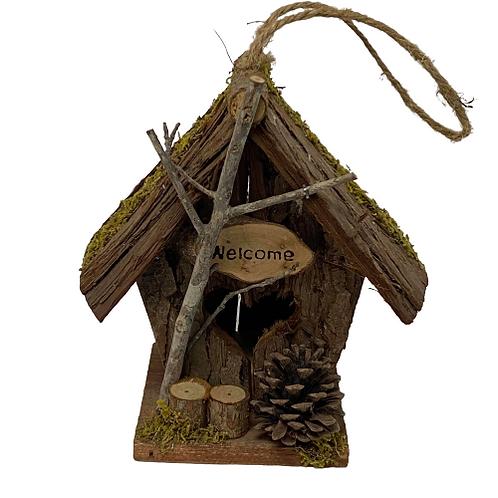 Small wooden Bird house