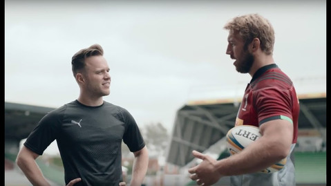Olly Murs - Do It Like Chris Robshaw [Episode 2]