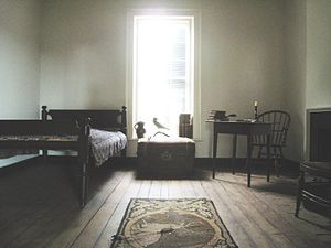 English: Edgar Allan Poe's room