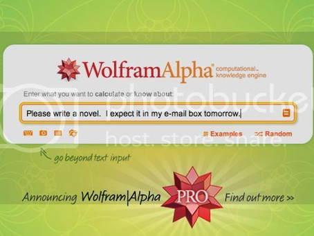 Researching for a Novel Using Wolfram Alpha