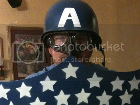 How to Make a 1940's Style Captain America Shield: Part 1