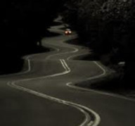 road travelled in the past