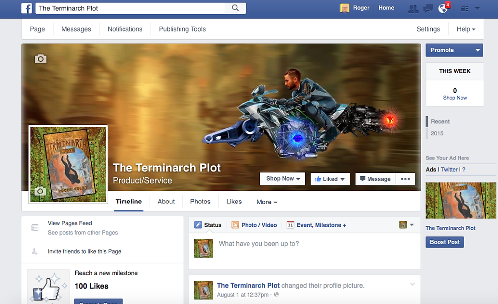 terminarch plot facebook
