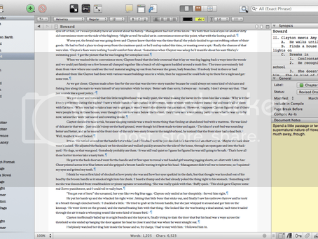 Scrivener Addict: Why I Won't Go Back To Word for Novel Writing
