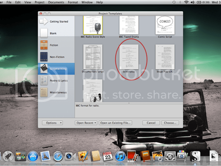 How to Use Scrivener to Write a Screenplay