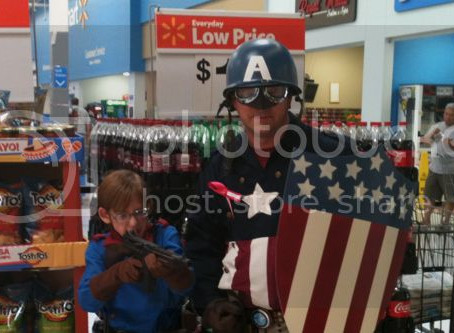 Captain America Makes His First Appearance…at Walmart