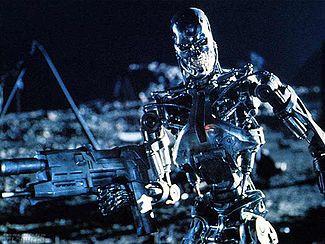 A Series 800 terminator, a robot-only version ...