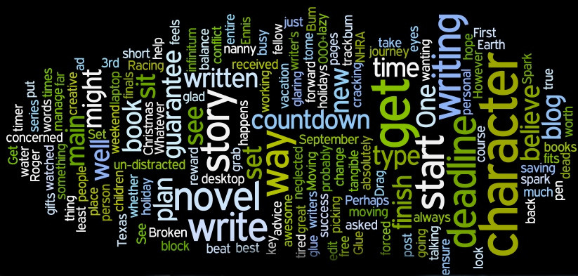 banner for writing tips