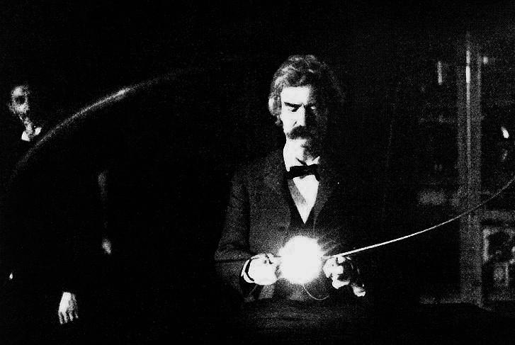 English: Mark Twain (penname of Samuel Langhor...