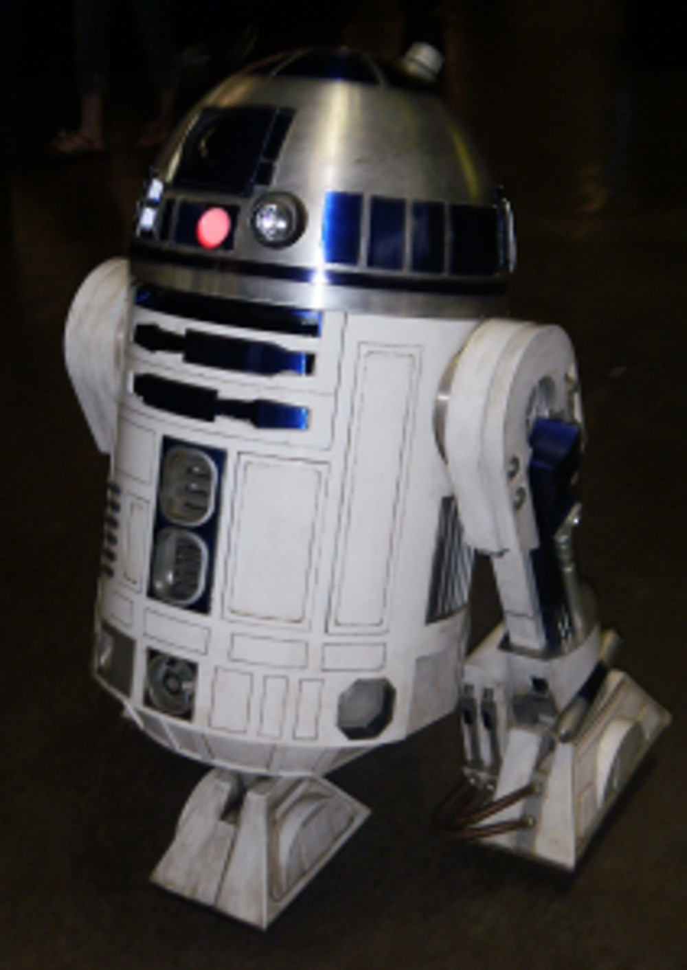 R2 was on hand as well, built from scratch by one of our members.  He moved and sounded just like the real thing.
