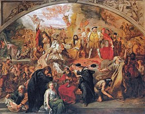 Sir John Gilbert's 1849 painting: The Plays of...