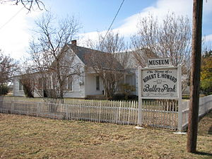 English: The Robert E. Howard Museum, the form...