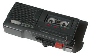 English: Sony Voice Recorder Deutsch: Sony-Dik...