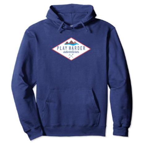 Red Diamond logo hoodie