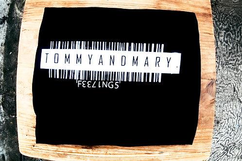 TOMMYANDMARY Barcode T-shirt