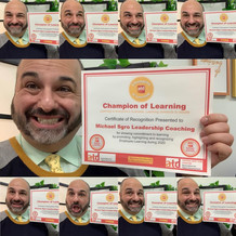 Coach Sgro, Champion of Learning