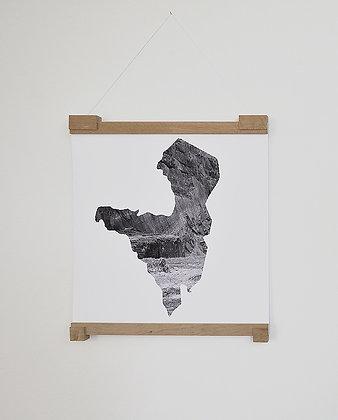 Monika Oechsler, Missing Mountain Maps III
