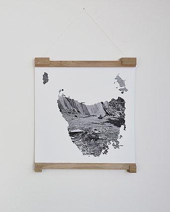 Monika Oechsler, Missing Mountain Maps IV
