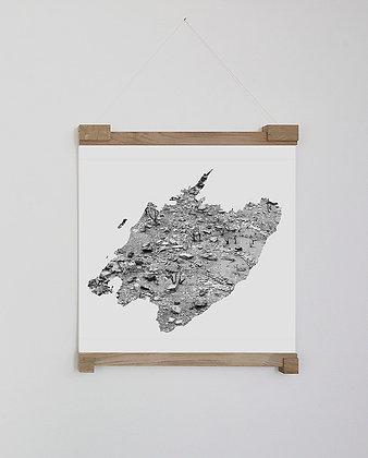 Monika Oechsler, Missing Mountain Maps II