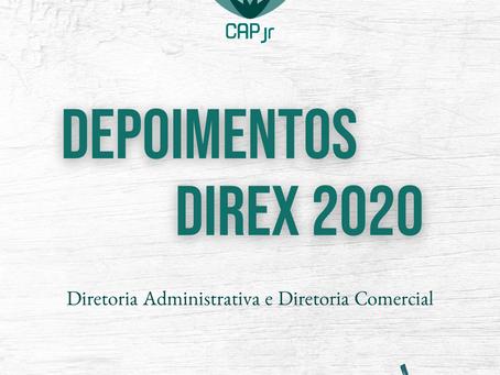 Depoimentos DIREX 2020