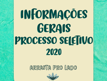 Informações Gerais PS2020