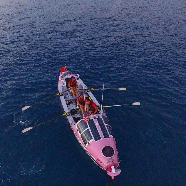 Doris on the Pacific