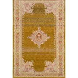 Antique, Wool Oushak Carpet