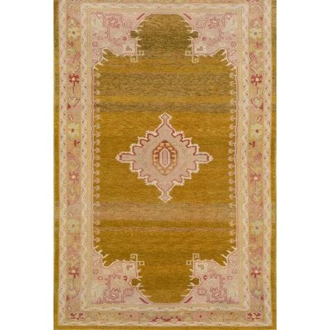 Antique, Wool Oushak Carpet