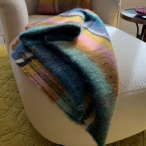 Pierre Frey Mohair Throw
