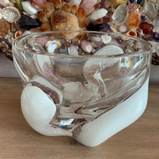 Seguso Glass Bowl on Chest