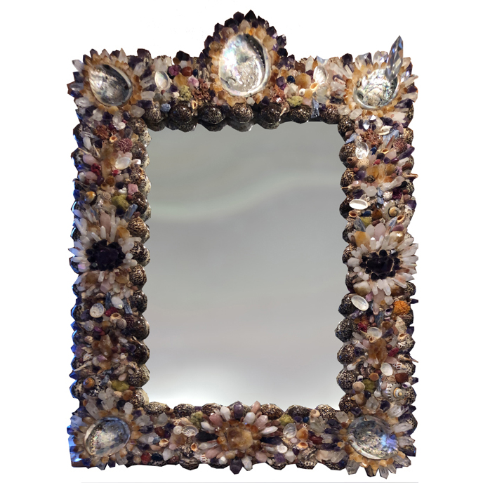 French Coquillage Mirror