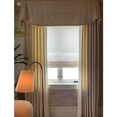 Loro Piana Linen Curtain Panels and Valences