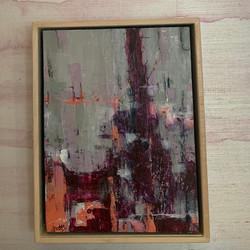 Summer Rhythm by Brian Story, acrylic on canvas pane