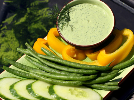 Creamy Dill Dip- Delectable and Dairy-Free!