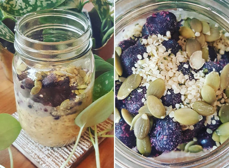 Protein-Packed Overnight Oats!
