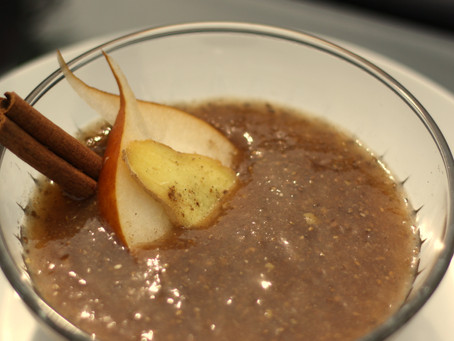 Ginger Pear Chia Pudding!