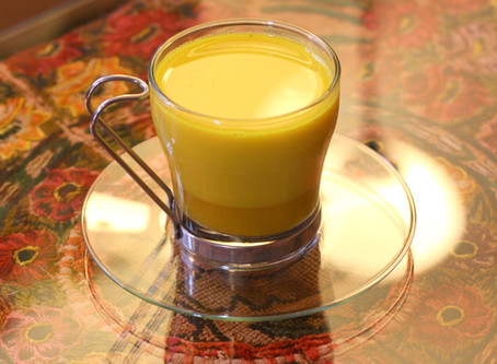 Creamy and Delicious Dairy-Free Golden Milk!