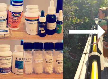 Natural Remedies Travel Kit!